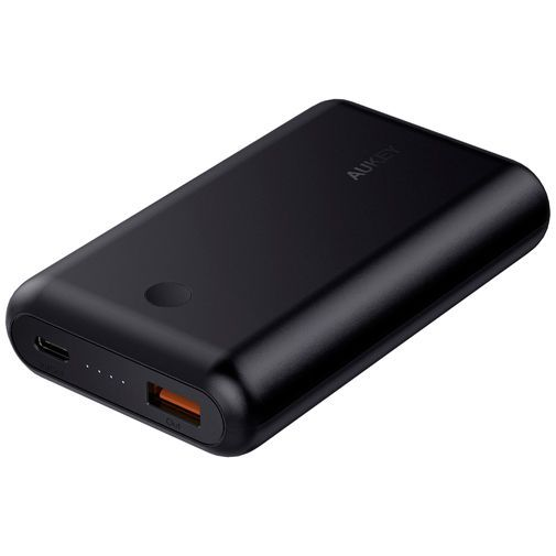 Productafbeelding van de Aukey USB-C Powerbank Power Delivery 3.0 10.050mAh Black