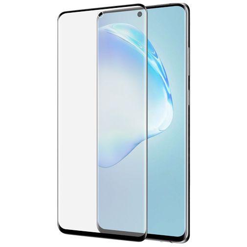 Productafbeelding van de Azuri Curved Tempered Glass Screenprotector Black Samsung Galaxy S20+