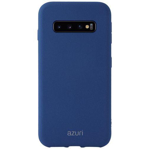 Productafbeelding van de Azuri Flexible Sand Cover Blue Samsung Galaxy S10