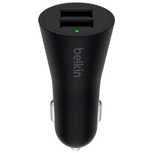 Productafbeelding van de Belkin Boost Up Autolader Dual USB 24W Black