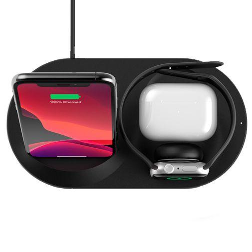 Productafbeelding van de Belkin Boost Charge 3-in-1 Draadloze Oplader 7,5W Zwart