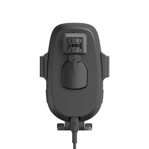 Productafbeelding van de Belkin Boost Charge Draadloze Snelle Autolader 10W + USB-C Kabel Zwart