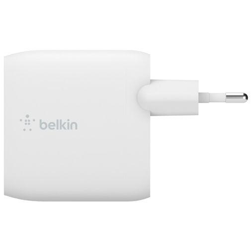 Productafbeelding van de Belkin Boost Charge Dual USB Snellader 12W + USB-C Kabel Wit