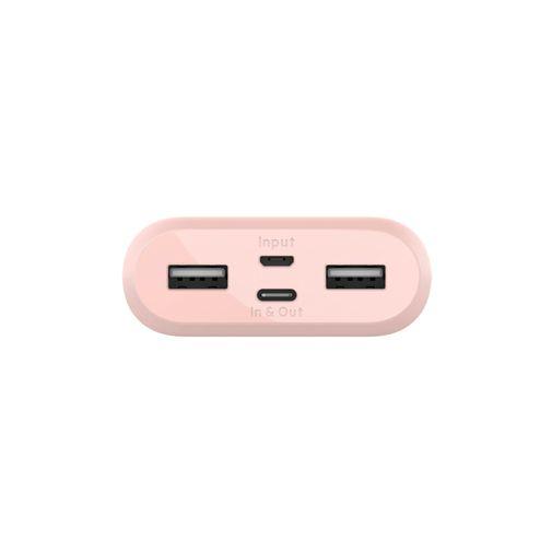 Productafbeelding van de Belkin Boost Charge USB-C Powerbank 10.000mAh Roze