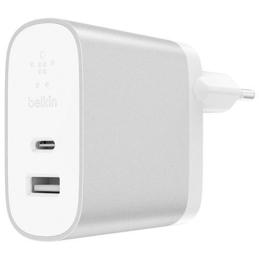 Productafbeelding van de Belkin Dual USB Snellader 27W White