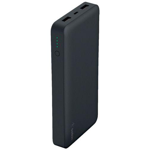 Produktimage des Belkin Pocket Powerbank 15.000mAh Schwarz
