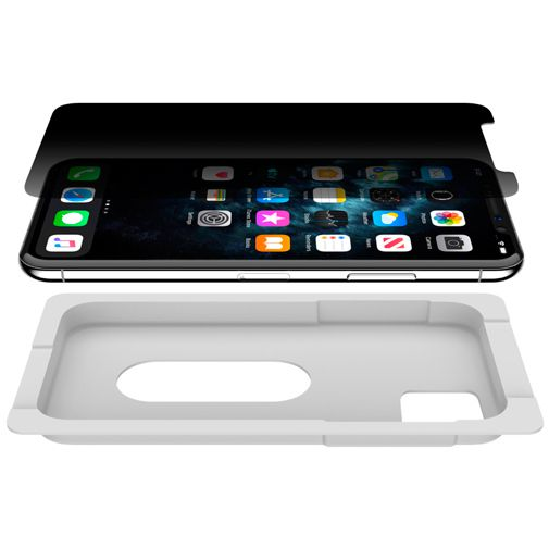 Productafbeelding van de Belkin ScreenForce InvisiGlass Ultra Privacy Screenprotector Apple iPhone XS Max/11 Pro Max