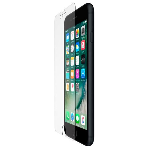 Produktimage des Belkin ScreenForce gehärtetes Glas Displayschutzfolie Apple iPhone 6/6S/7/8/SE 2020