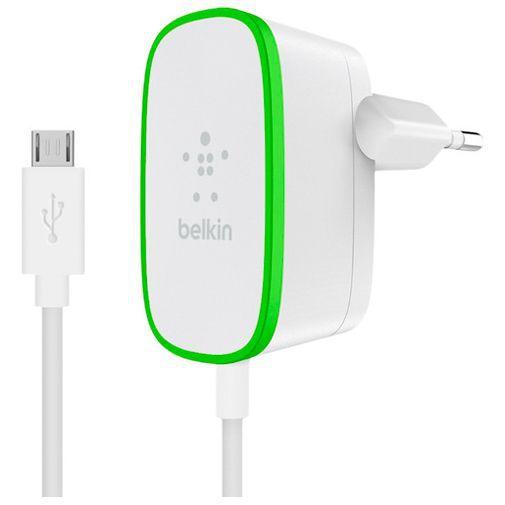 Productafbeelding van de Belkin Thuislader 12W + Vaste Micro-USB Kabel