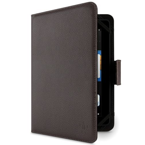Productafbeelding van de Belkin Universal 8 inch Leather Tab Cover Brown