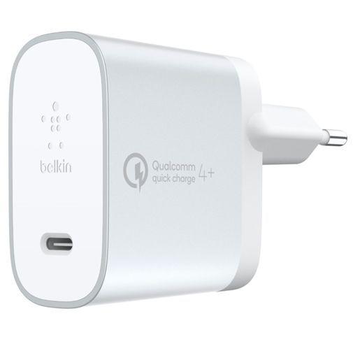 Productafbeelding van de Belkin USB-C Snellader + USB-C-kabel 27W White