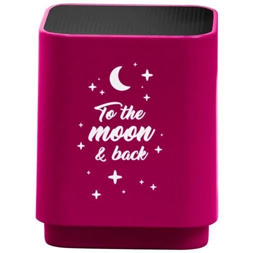 Productafbeelding van de Bigben BT19 Bluetooth Speaker To the Moon & Back Pink