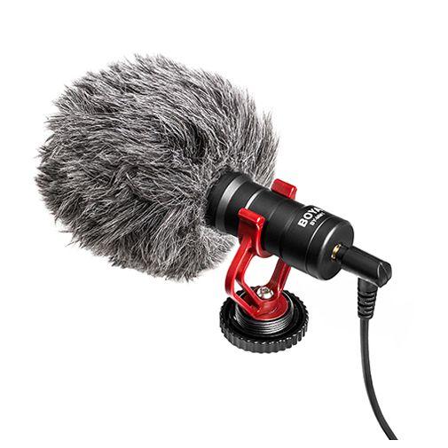 Productafbeelding van de Boya BY-MM1 Shotgun Microfoon Zwart