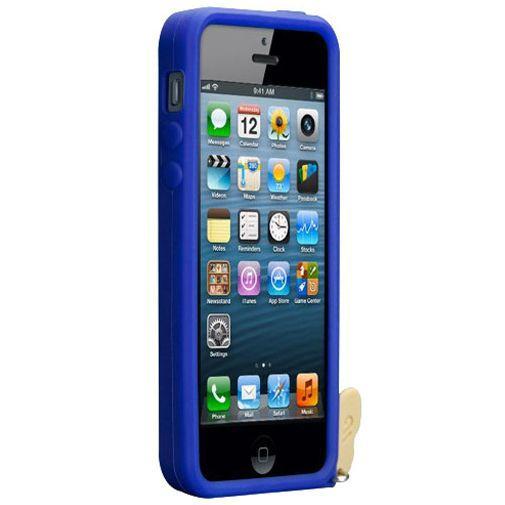 Productafbeelding van de Case-mate Creatures Ellie Apple iPhone 5/5S Grey