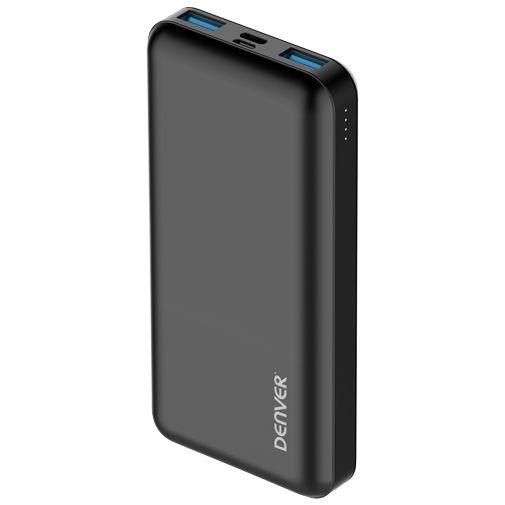 Productafbeelding van de Denver PQC-20005 USB-C Snellader Powerbank 20.000mAh Zwart