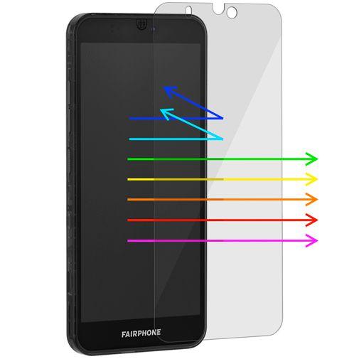 Productafbeelding van de Fairphone 3/3+ Blue Light Filter Screenprotector