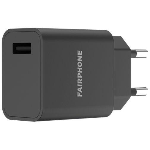 Productafbeelding van de Fairphone Adapter Quick Charge 3.0 Black