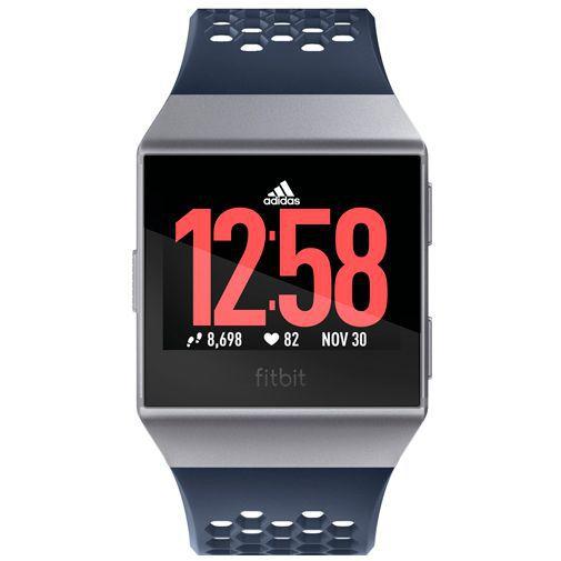 Productafbeelding van de Fitbit Ionic Adidas Edition Blue/Grey