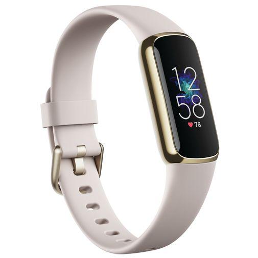 Productafbeelding van de Fitbit Luxe Goud Witte Band
