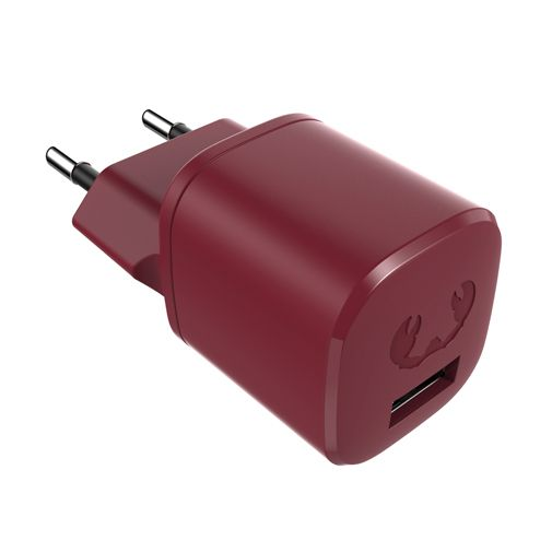 Productafbeelding van de Fresh 'n Rebel Mini Snellader 12W + Lightning Kabel Rood