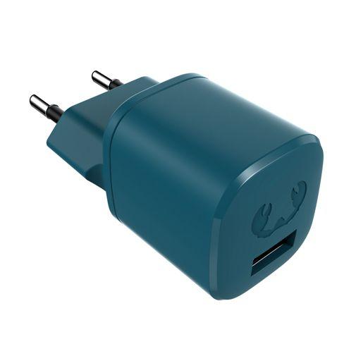 Productafbeelding van de Fresh 'n Rebel Mini Snellader 12W + USB-C Kabel Blauw