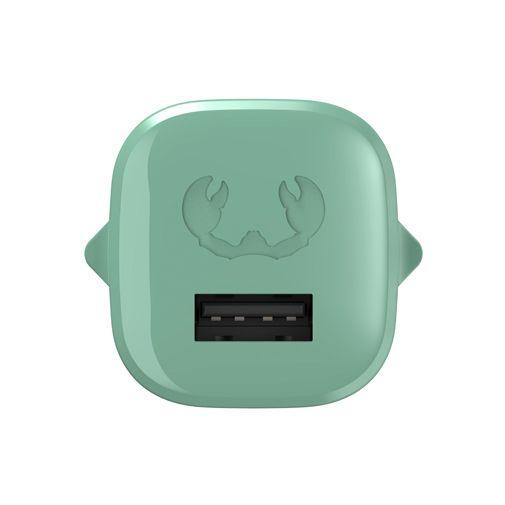 Productafbeelding van de Fresh 'n Rebel Mini Snellader 12W + USB-C Kabel Groen