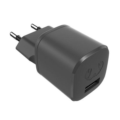 Productafbeelding van de Fresh 'n Rebel Mini Snellader 12W + USB-C Kabel Zwart