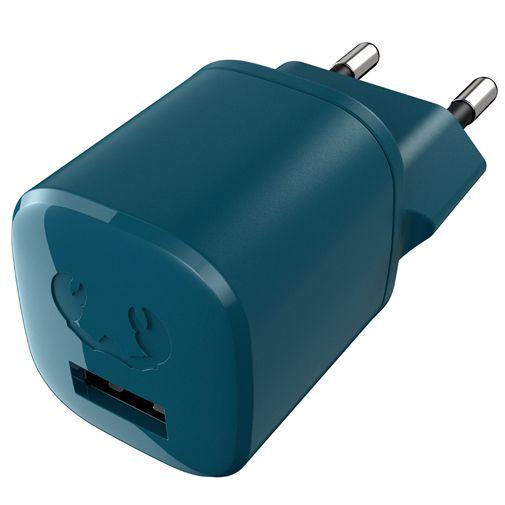 Productafbeelding van de Fresh 'n Rebel Mini Snellader 12W + Lightning Kabel Blauw