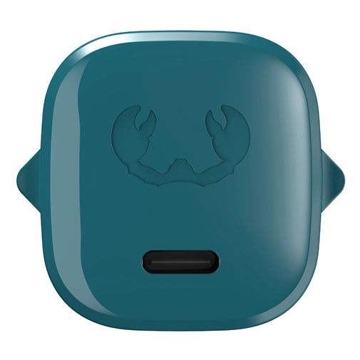 Productafbeelding van de Fresh 'n Rebel Mini USB-C Snellader 18W + Lightning Kabel Blauw