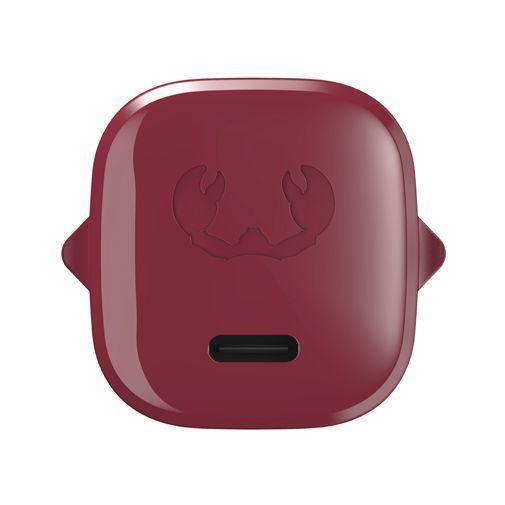 Productafbeelding van de Fresh 'n Rebel Mini USB-C Snellader 18W + Lightning Kabel Rood