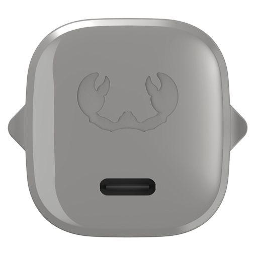 Productafbeelding van de Fresh 'n Rebel Mini USB-C Snellader 18W + USB-C Kabel Grijs
