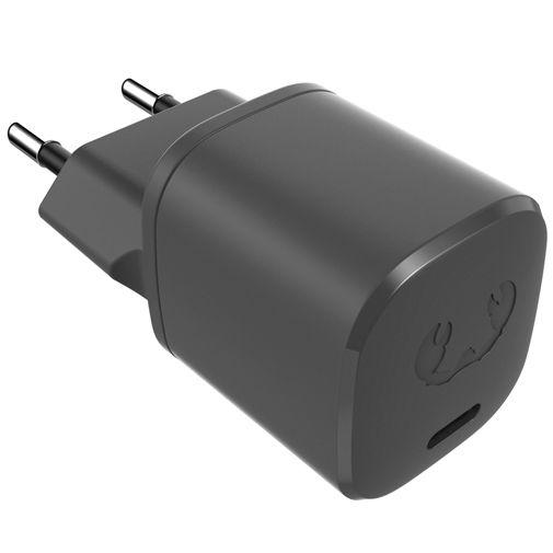Productafbeelding van de Fresh 'n Rebel Mini USB-C Snellader 18W + USB-C Kabel Zwart