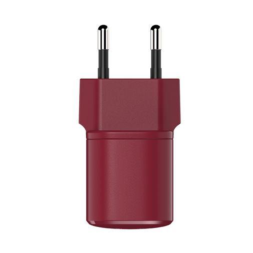 Productafbeelding van de Fresh 'n Rebel Mini USB-C Snellader 18W Rood