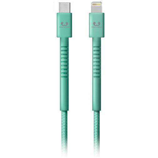 Productafbeelding van de Fresh 'n Rebel USB-C naar Lightning Kabel 1,5 meter Green
