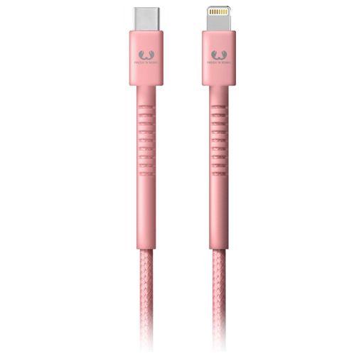 Productafbeelding van de Fresh 'n Rebel USB-C naar Lightning Kabel 1,5 meter Pink