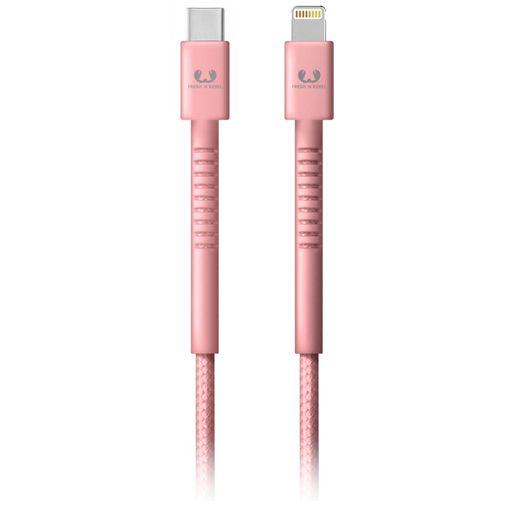 Produktimage des Fresh 'n Rebel USB-C auf Lightning Kabel 3 Meter Pink