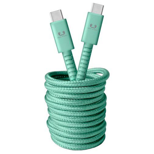 Productafbeelding van de Fresh 'n Rebel USB-C naar USB-C Kabel 3 meter Green