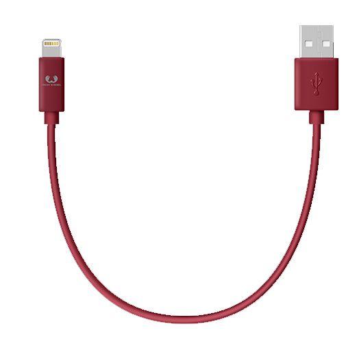 Productafbeelding van de Fresh 'n Rebel USB naar Lightning Kabel 0,2 meter Red