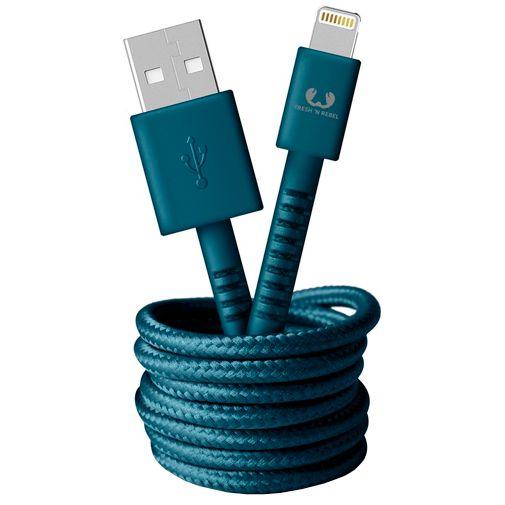 Productafbeelding van de Fresh 'n Rebel USB naar Lightning Kabel 1,5 meter Blue