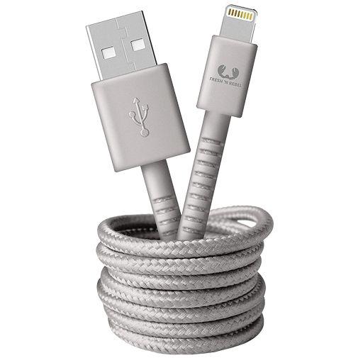 Productafbeelding van de Fresh 'n Rebel USB naar Lightning Kabel 1,5 meter Grey