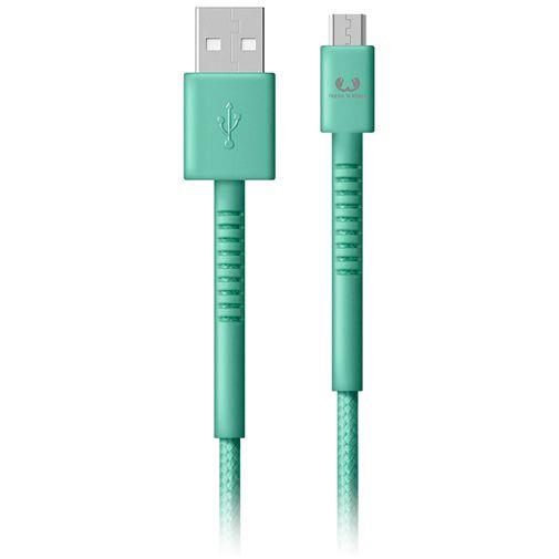 Produktimage des Fresh 'n Rebel USB auf Micro-USB Kabel 1,5 Meter Grün