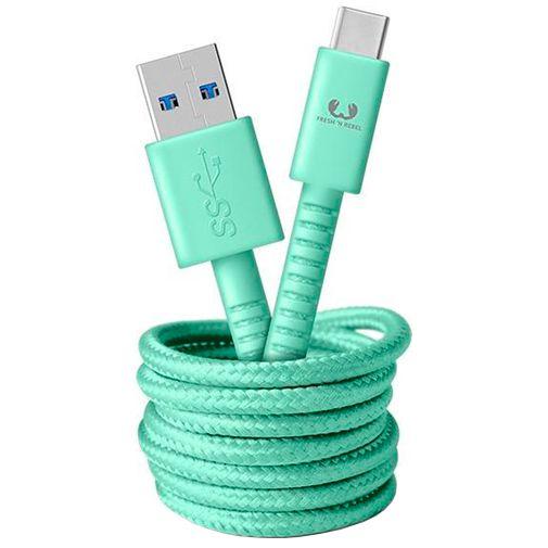 Productafbeelding van de Fresh 'n Rebel USB naar USB-C Kabel 1,5 meter Green