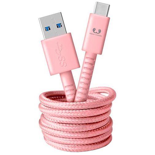 Productafbeelding van de Fresh 'n Rebel USB naar USB-C Kabel 1,5 meter Pink
