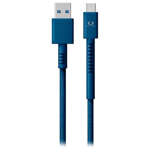 Productafbeelding van de Fresh 'n Rebel USB naar USB-C Kabel 3 meter Blue