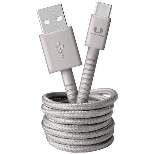 Productafbeelding van de Fresh 'n Rebel USB naar USB-C Kabel 1,5 meter Grey