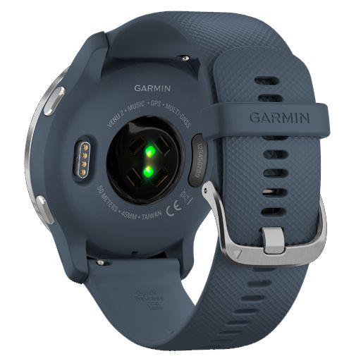 Productafbeelding van de Garmin Venu 2 Zilver Blauwe Band