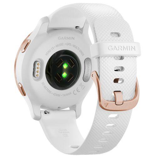 Productafbeelding van de Garmin Venu 2S Rosé Goud Witte Band