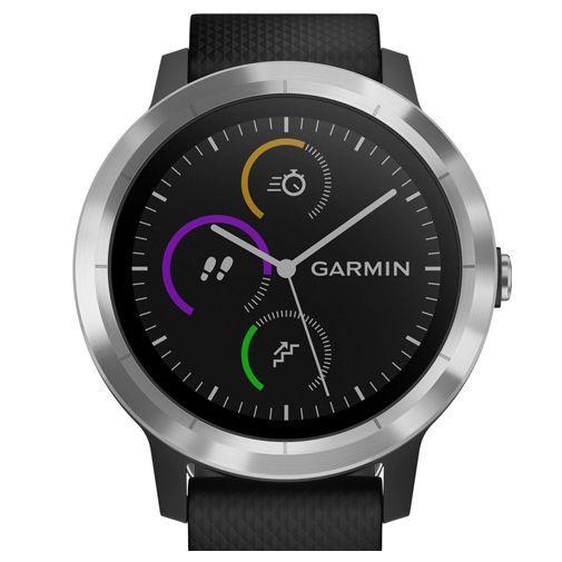 Produktimage des Garmin Vivoactive 3 Silber/Schwarz