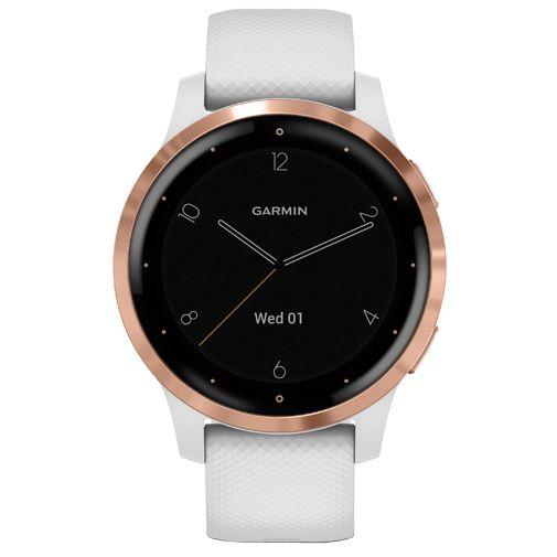 Productafbeelding van de Garmin Vivoactive 4S Rose Gold/White