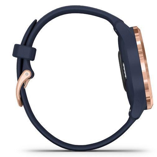 Produktimage des Garmin Vivomove 3S Gold/Blau